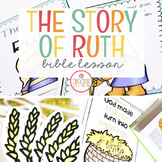 THE STORY OF RUTH BIBLE LESSON
