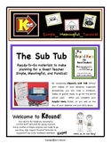 THE SUB TUB!  Ready to go planning for a Guest Teacher!