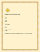 THE SUN: AN AMAZING STAR: A SCIENCE QUIZ: TRUE/FALSE