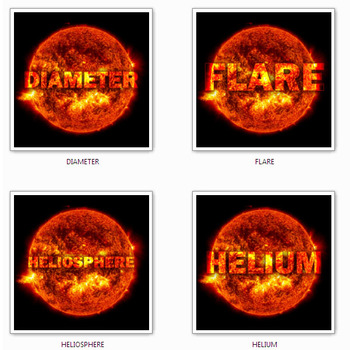 THE SUN ANIMATED GIFS ( black background )