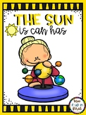 THE SUN IS CAN HAS