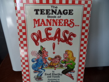THE TEENAGE BOOK OF MANNERS PLEASE!   ISBN 1-55748-246-2