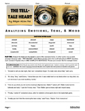 The Tell-Tale Heart Analyzing MOOD and TONE Activities