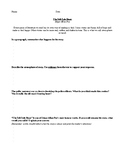 THE TELL TALE HEART BY EDGAR ALLAN POE COMPREHENSION QUESTIONS HANDOUT