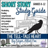 THE TELL-TALE HEART by E. A. Poe Short Story Literature Unit/Study Guide