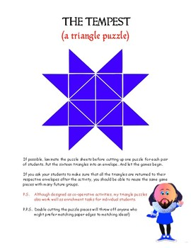 THE TEMPEST (A triangle puzzle)