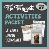 THE TEMPEST - Activities Packet