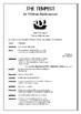 THE TEMPEST Full Play Script by William Shakespeare