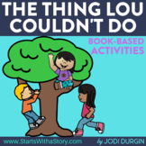 THE THING LOU COUDLN'T DO read aloud lessons