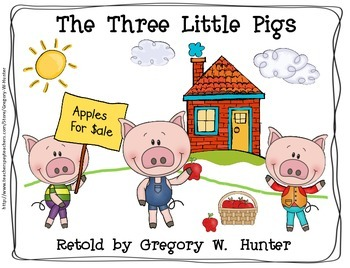 THE THREE LITTLE PIGS ~ READERS, MATH and LITERACY ACTIVITIES