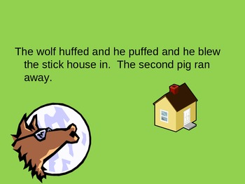 THE THREE LITTLE PIGS - power point presentation