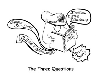 THE THREE QUESTIONS Success Sparks Reading Adventure!