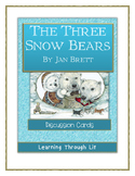 THE THREE SNOW BEARS by Jan Brett - Discussion Cards PRINTABLE & SHAREABLE
