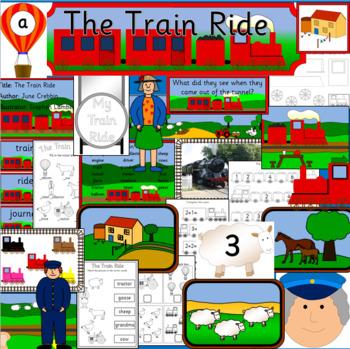 THE TRAIN RIDE book study - June Crebbin