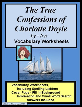 THE TRUE CONFESSIONS OF CHARLOTTE DOYLE by Avi, Vocabulary