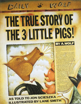 THE TRUE STORY OF THE 3 LITTLE PIGS! * Scieszka * Paperback Book