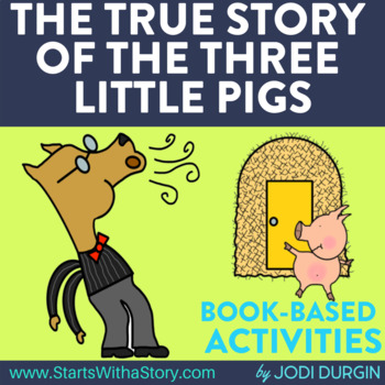 THE TRUE STORY OF THE THREE LITTLE PIGS read aloud lessons