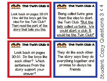 Reading Street, THE TWIN CLUB Resource Teacher Pack