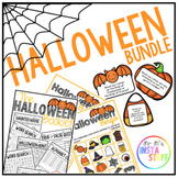 THE HALLOWEEN BUNDLE // 3 RESOURCES // HALLOWEEN BOOKLET INCLUDED