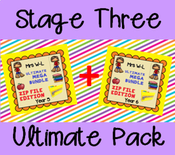 THE ULTIMATE STAGE 3 SMART NOTEBOOK AND UNIT OF WORK PACK