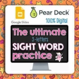 THE ULTIMATE Sight Words BIG DIGITAL Pear Deck Distance Learning