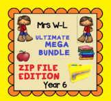 THE ULTIMATE YEAR 6 SMART NOTEBOOK AND UNIT OF WORK MEGA BUNDLE