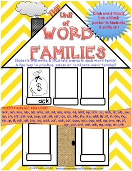 THE UNIT OF WORD FAMILIES