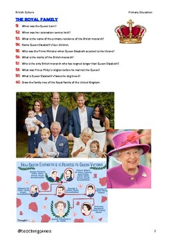 THE UNITED KINGDOM'S QUESTIONNAIRE!