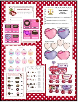 THE VALENTINE SWEET SHOP