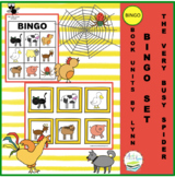 THE VERY BUSY SPIDER BINGO SET