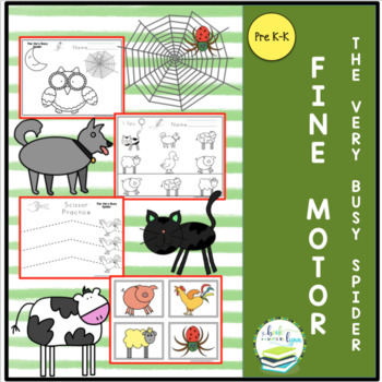 THE VERY BUSY SPIDER FINE MOTOR