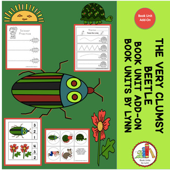 THE VERY CLUMSY BEETLE- BOOK UNIT ADD-ON