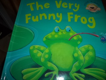 THE VERY FUNNY FROG  ISBN 978-1-84506-962-9