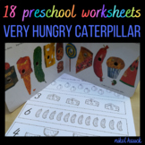 THE VERY HUNGRY CATERPILLAR WORKSHEET PACK (BASED ON ERIC CARLE'S BOOK)