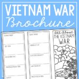 THE VIETNAM WAR Research Brochure Template, American Histo