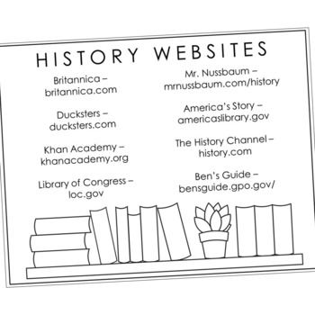 THE VIKINGS Research Brochure Template, World History Project