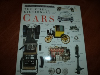 THE VISUAL DICTIONARY OF CARS  ISBN 0-439-11770-4
