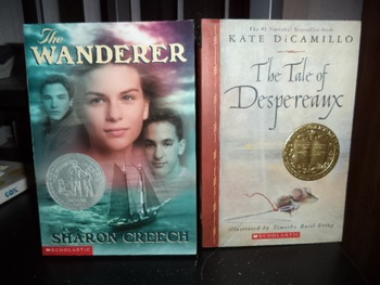 THE WANDERER  THE TALE OF DESPERAUX     (SET OF 2)