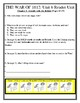 THE WAR OF 1812 Skills Strand Unit 6 Activity/Assessment 85 Page Reading Unit