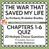 THE WAR THAT SAVED MY LIFE | CHAPTERS 1-3 | PRINTABLE QUIZ