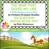 THE WAR THAT SAVED MY LIFE | PRINTABLE WHOLE BOOK TEST | 3