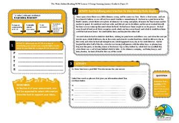 INTERVENTION: Reading - Selecting Information - LESSON 1 ORANGE TRIP