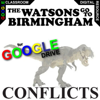 THE WATSONS GO TO BIRMINGHAM Conflict Graphic Organizer (Created for Digital)