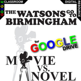 THE WATSONS GO TO BIRMINGHAM Movie vs Novel Comparison (Created for Digital)