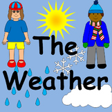 THE WEATHER thematic unit, topic