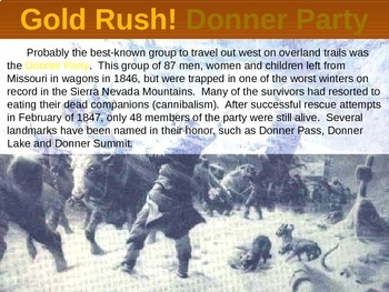 THE WEST! (PART 5: CALIFORNIA GOLD RUSH) visual, textual, engaging 133-slide PPT