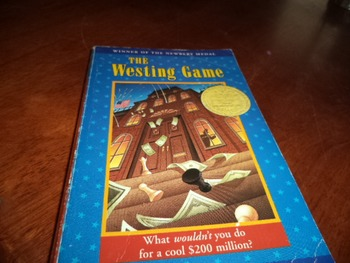 THE WESTING GAME   ISBN0-14-038664-5