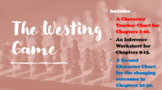 THE WESTING GAME: Novel Activities -- Character Charts, Quiz, & Movie Questions