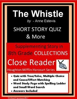 THE WHISTLE by Anne Estevis - Quiz