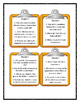 Series of Unfortunate Events THE WIDE WINDOW - Discussion Cards